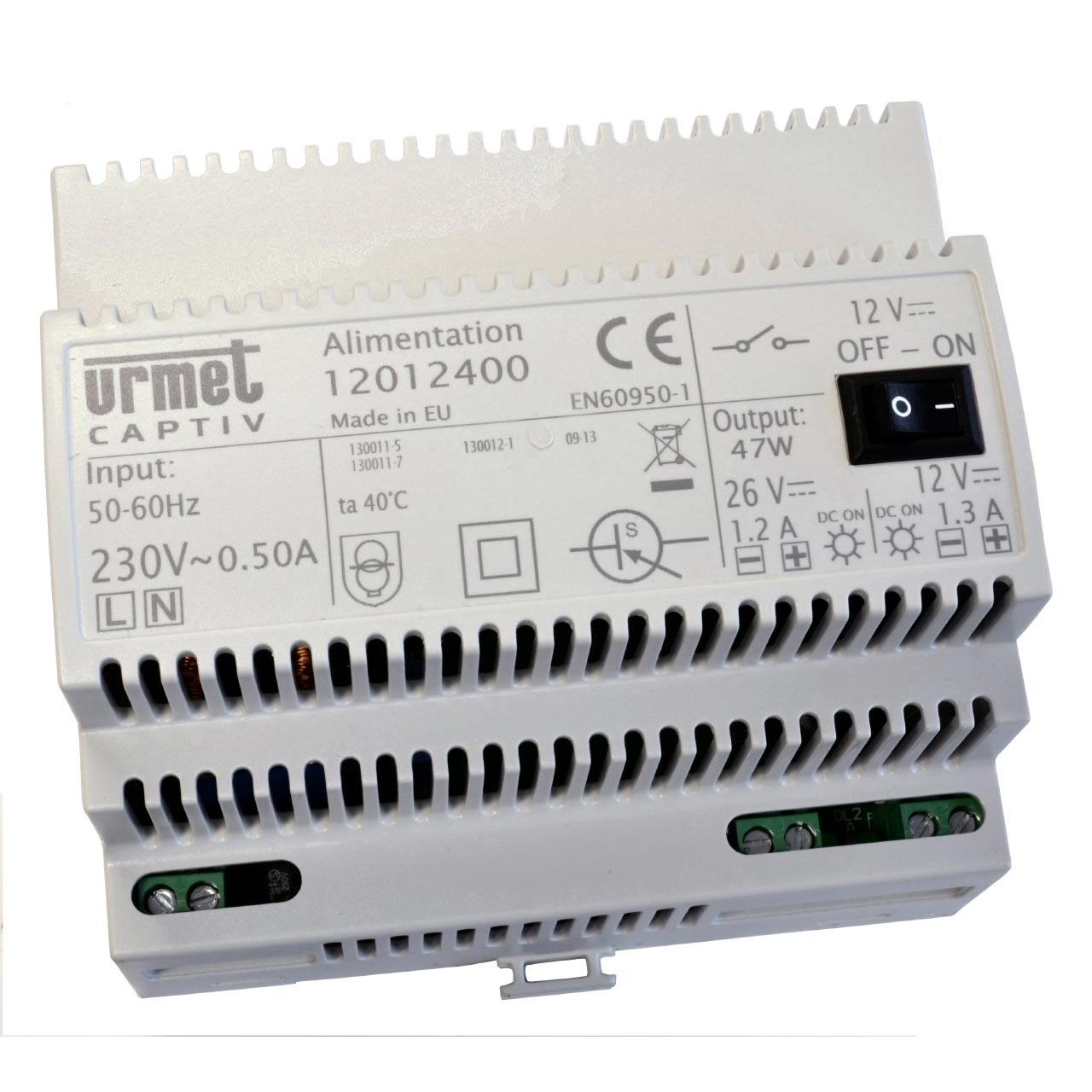 Urmet - URM12012400 - URMET 12012400 - ALIMENTATION OPEN 26VCC-12VCC