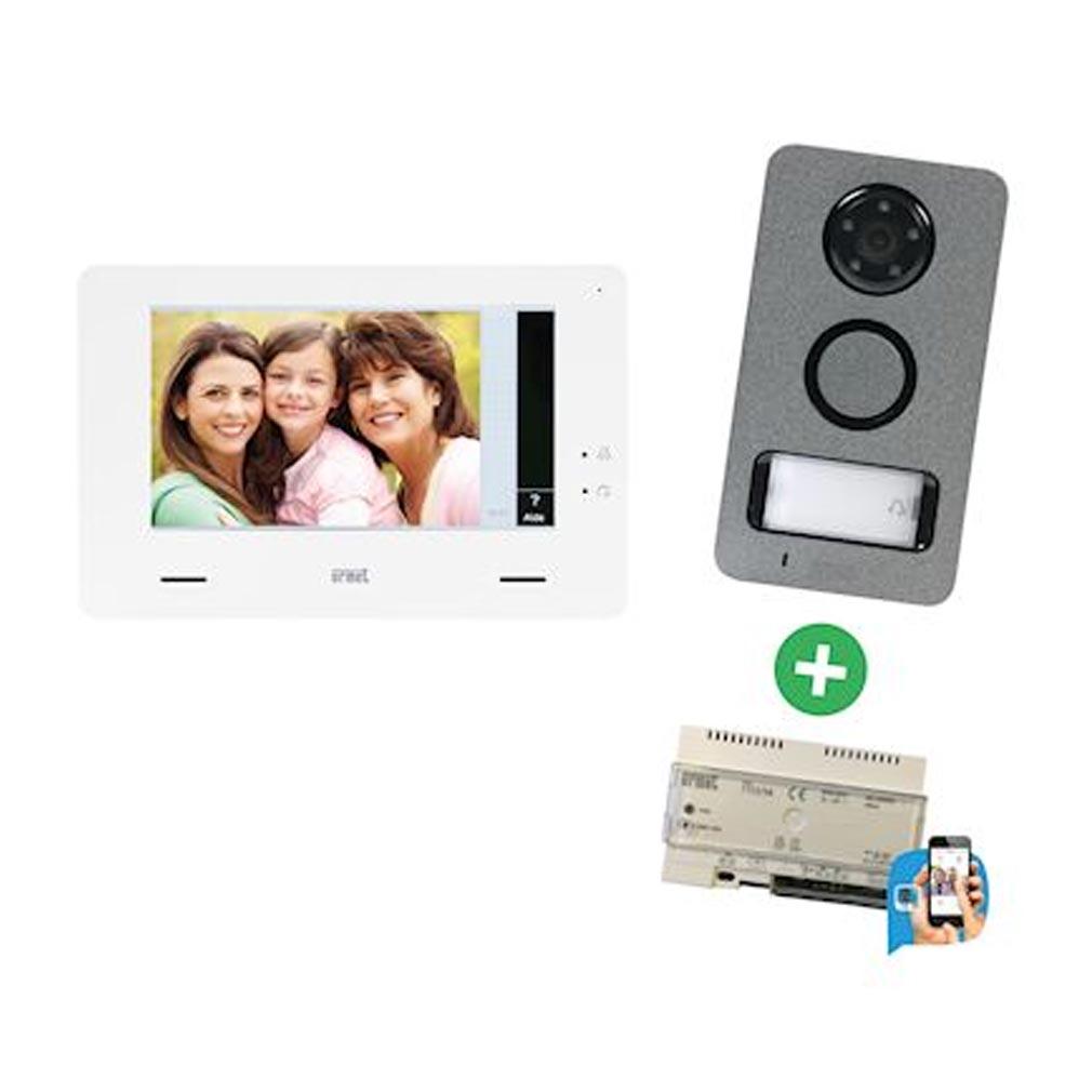 Urmet - URM172285W - URMET 1722/85W -  Kit Video Mini Note + Callme