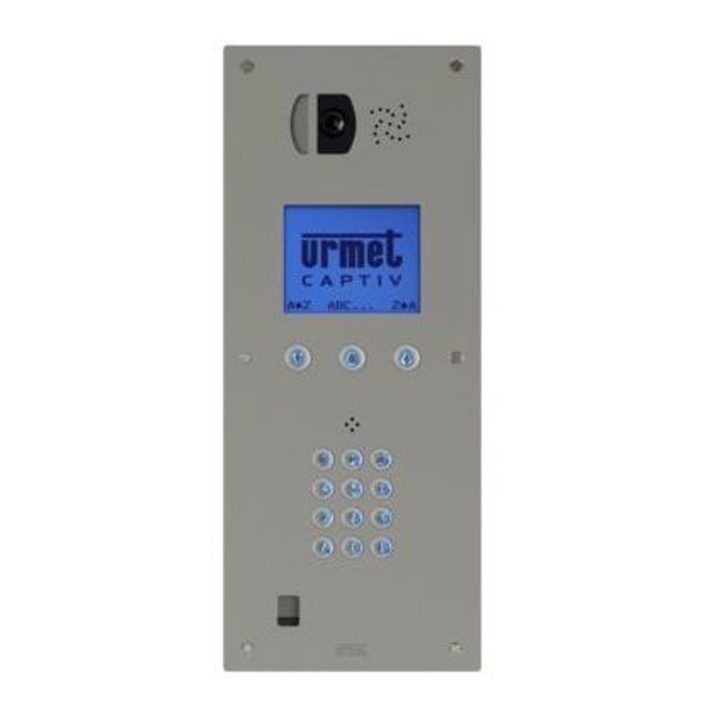 Urmet - URM98171100 - URMET 98171100 - Plaque vidéo à défilement Afficheur graphique