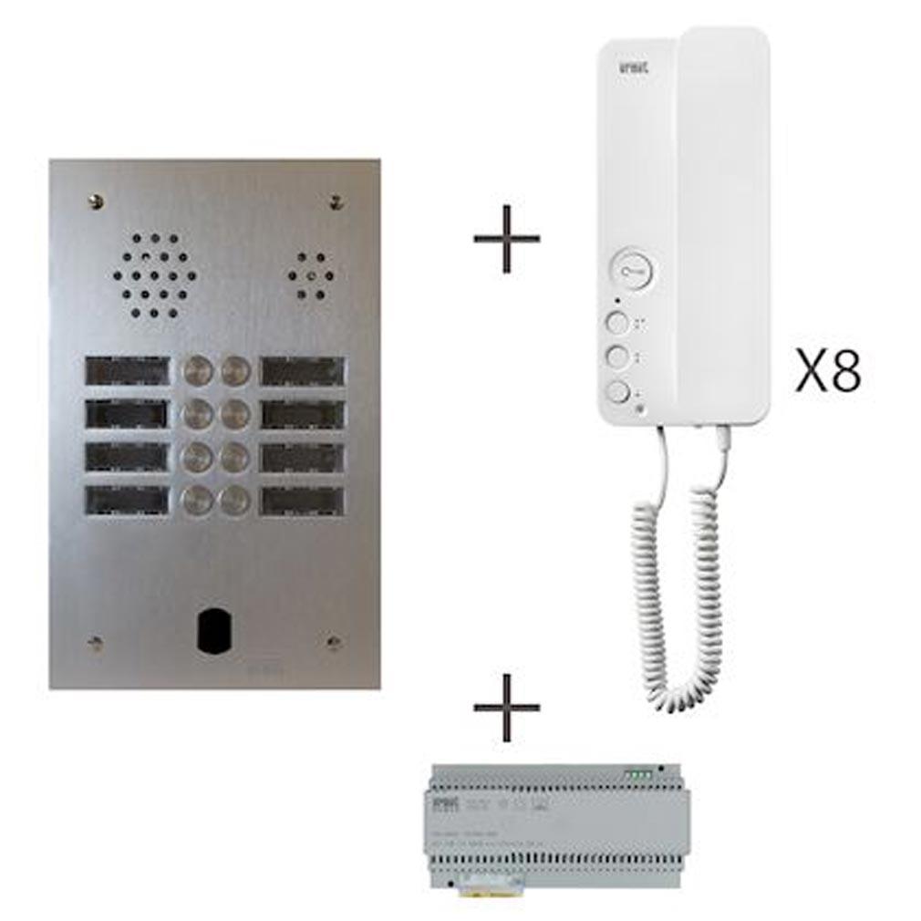 Urmet - URMKA83208 - URMET KA83/208 - Kit audio 2 rangées de touches