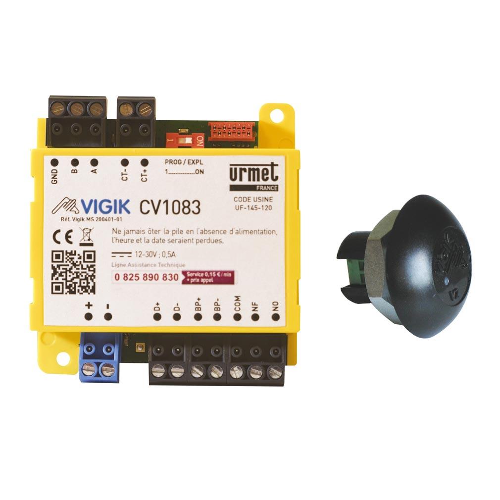 Urmet - URMKCV1083 - URMET KCV1083 - KIT MICRO-CENTRALE CV1083+ T25VK2