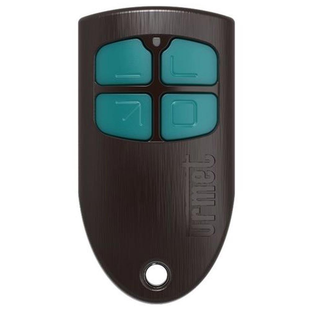 Urmet - URMMEMOBIP4B - URMET MEMOBIP4B - télécommande 4 boutons / bitechno : radio 868 Mhz et clé de proximité 13,56 Mhz
