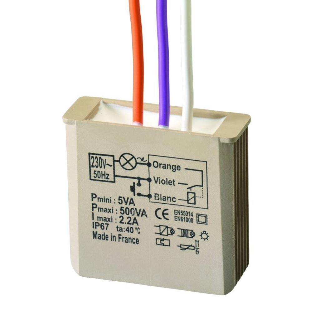 Yokis - YOS5454051 - YOKIS MTM500E - 5454051 - Minuterie encastrable 500W