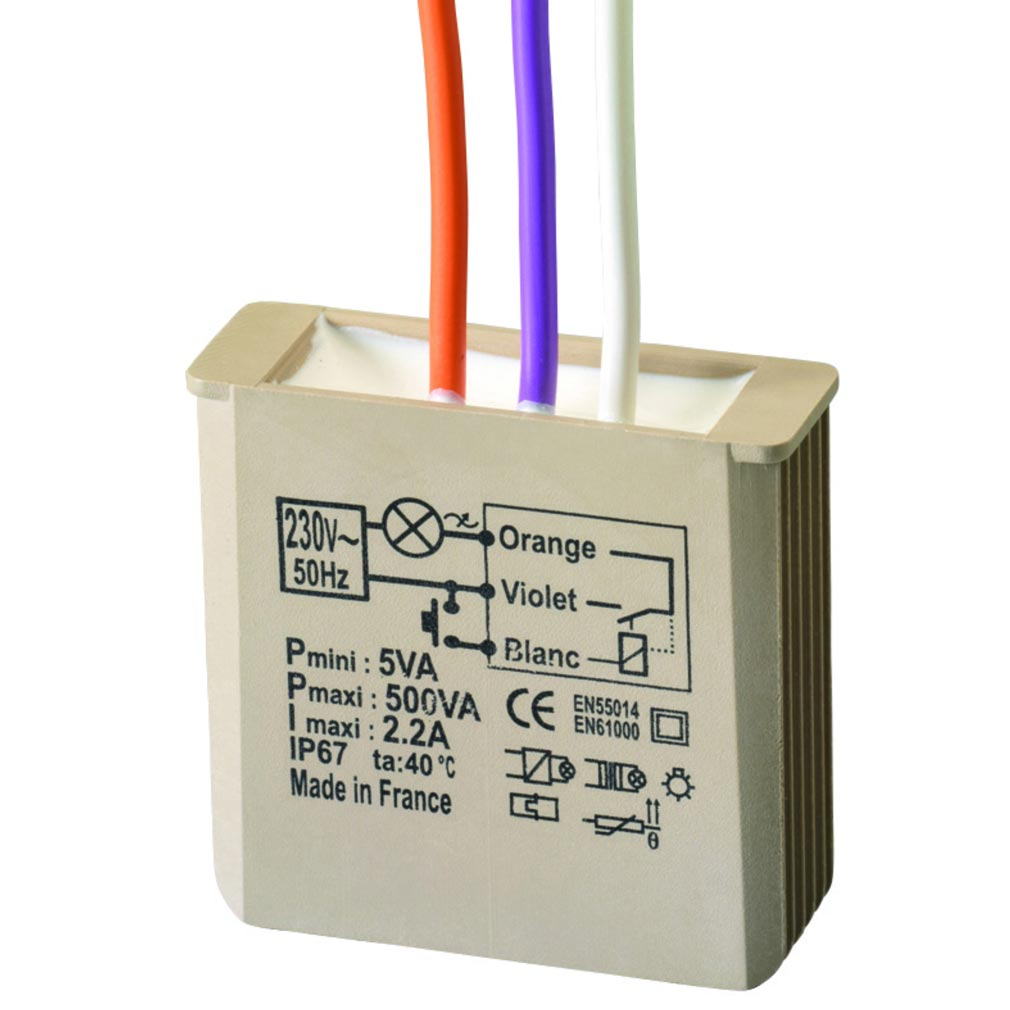 Yokis MTK500E - Yokis YOS5454053 - YOKIS MTK500E   5454053   Télévariateur Intelligent multifonctions Encastrable...