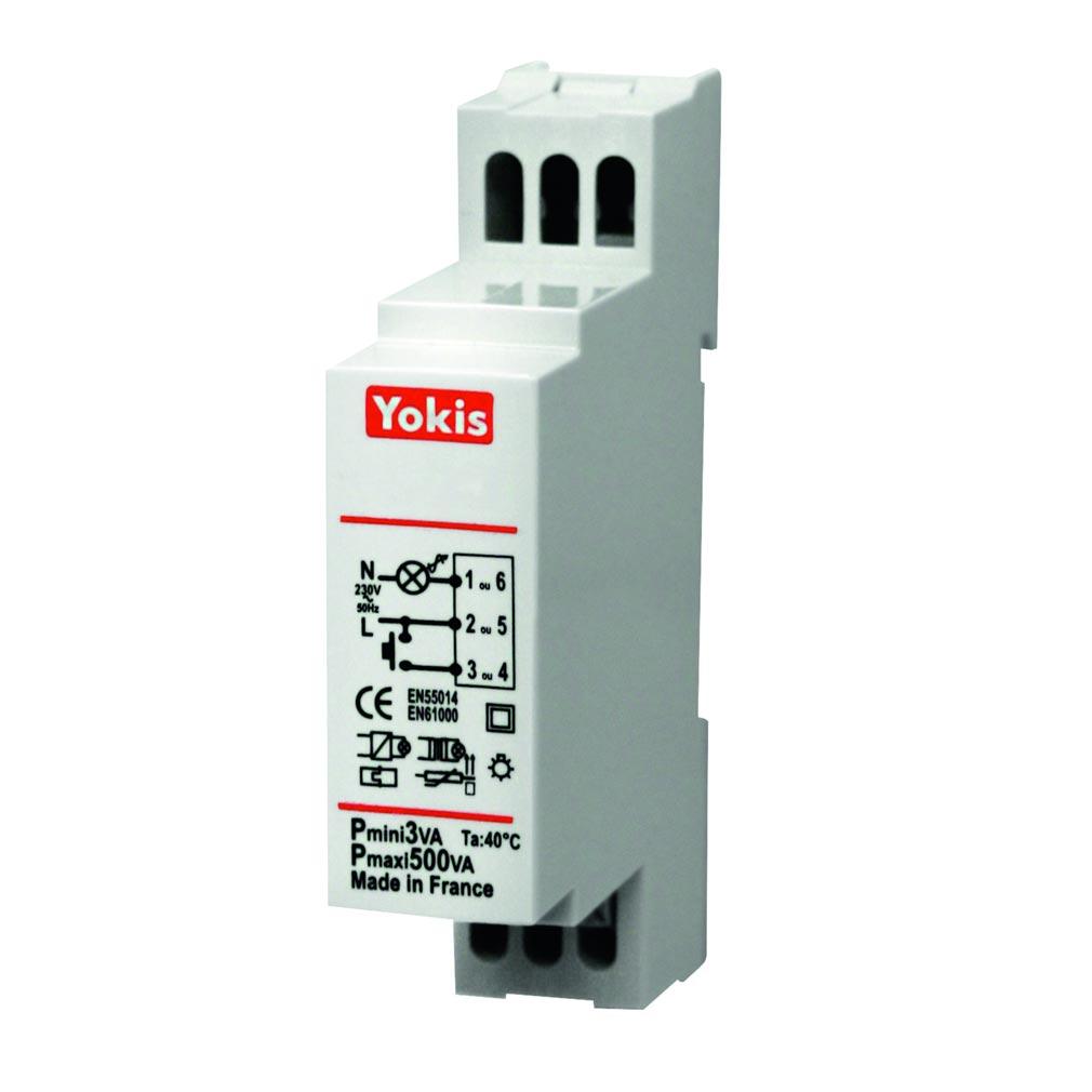 Yokis - YOS5454060 - YOKIS MTR500M - 454060 - Télérupteur Modulaire 500W