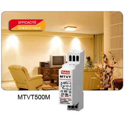 Yokis - YOS5454065 - YOKIS MTVT500M - 5454065 - Télévariateur Temporisé Modulaire 500W