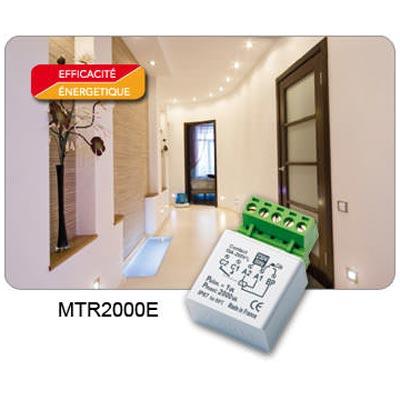 Yokis - YOS5454350 - YOKIS MTR2000E - 5454350 - Télérupteur Temporisé Encastrable 2000W