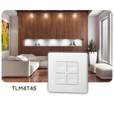 Yokis - YOS5454412 - YOKIS TLM4T45 - 5454412 -  Télécommande Murale 4 touches