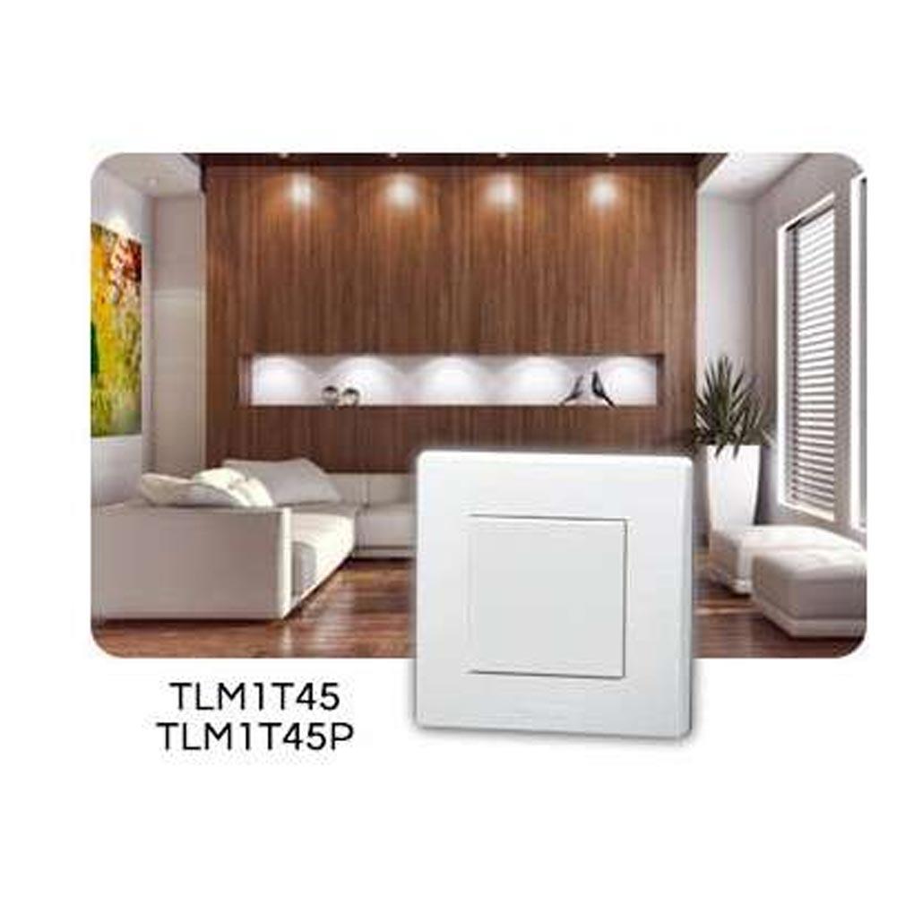 Yokis - YOS5454417 - YOKIS TLM1T45P - 5454417 -   Télécommande Murale 1 touche