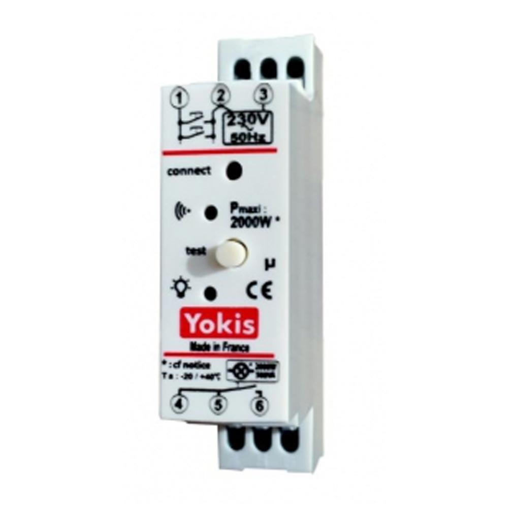 Yokis - YOS5454464 - YOKIS MTR2000MRP - 5454464 - Télérupteur Temporisé Modulaire RADIO 2000W