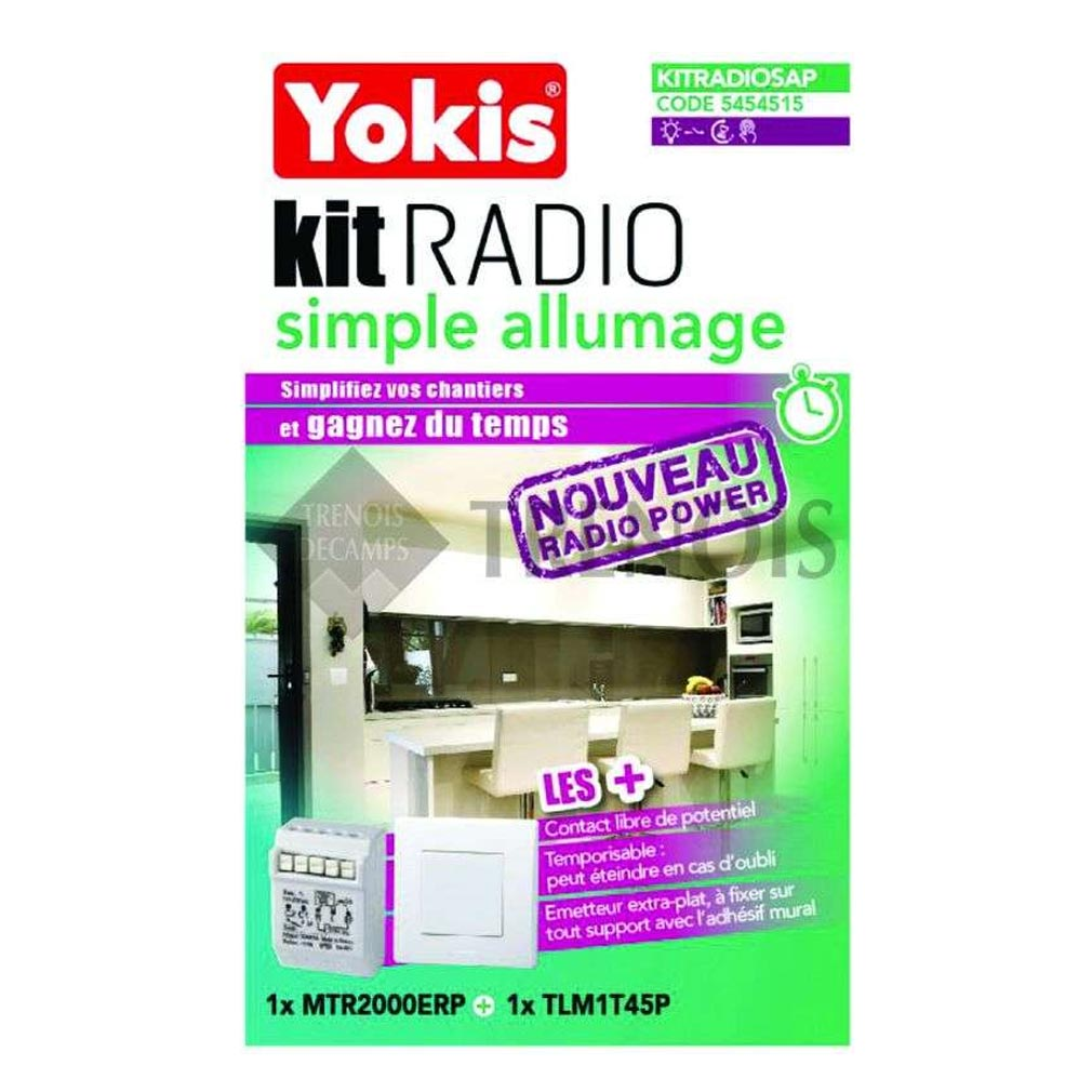 Yokis - YOS5454515 - YOKIS KITRADIOSAP - 5454515 - Kit Radio Simple Allumage - Radio POWER