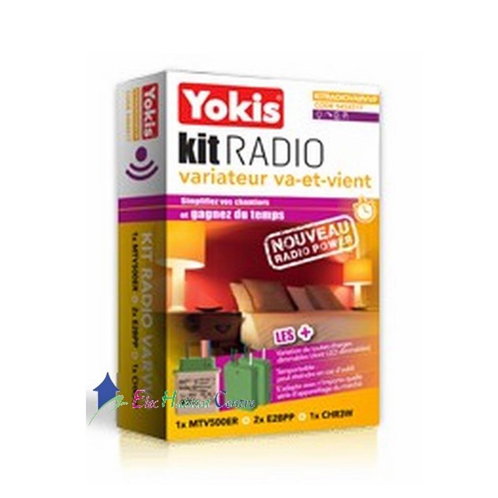 Yokis YOS5454517 - YOKIS KITRADIOVARVVP - 5454517 - Kit Radio Variation Va-et-Vient - Radio POWER
