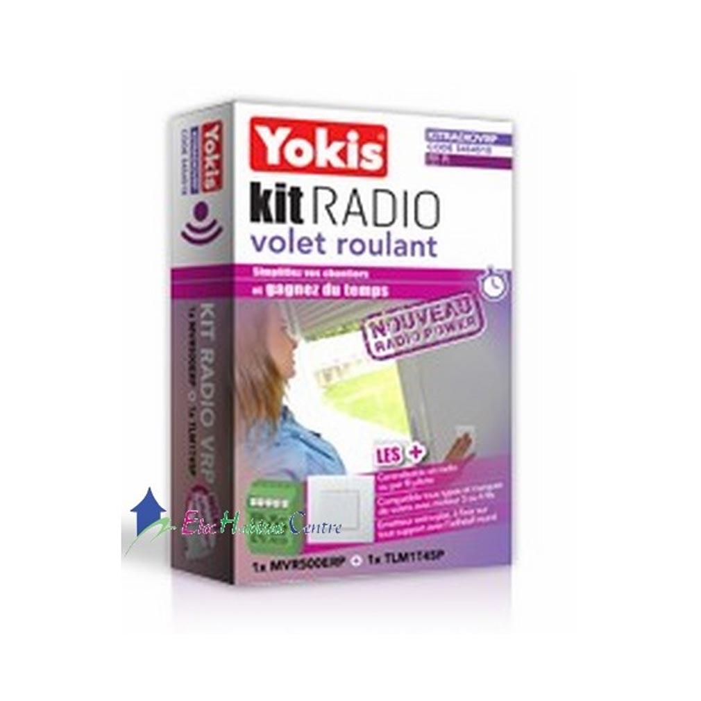 Yokis - YOS5454518 - YOKIS KITRADIOVRP - 5454518 - Kit Radio Volet roulant - Radio POWER